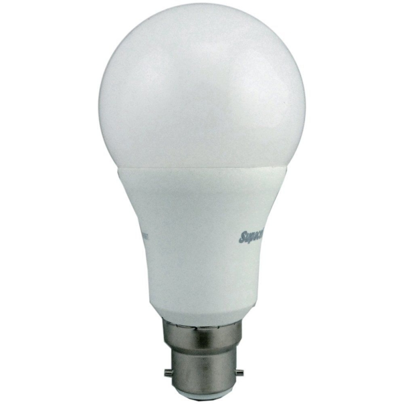 Supacell SLAPBC12 12W LED GLS BC Opal Non-Dimmable