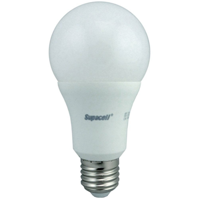 Supacell SLAPES12 12W GLS LED ES Opal Non-Dimmable