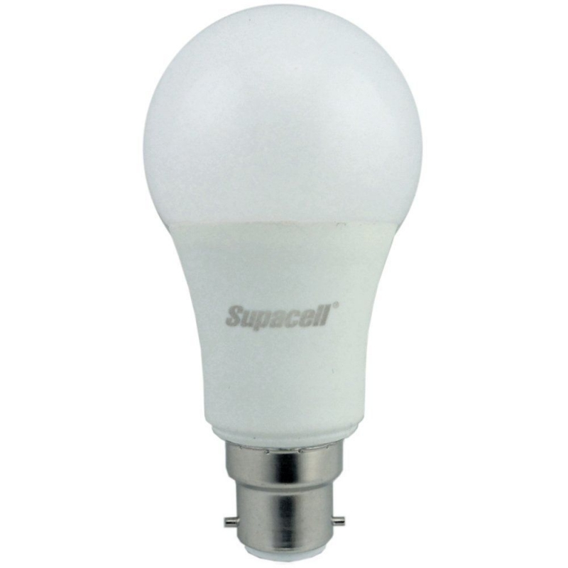 Supacell SLAPBC9 9W LED GLS Opal BC Non-Dimmable