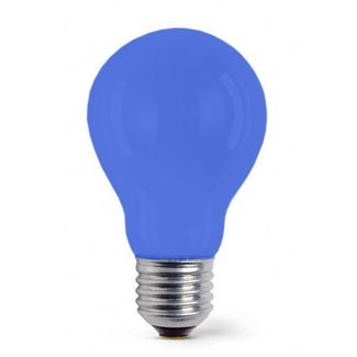 Colourglazed Standard GLS Blue ES 25W Lamp