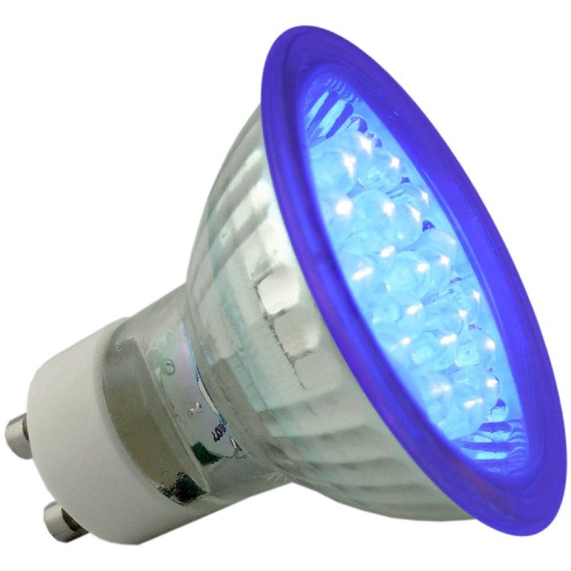 Deltech Ultra Violet 21 LED GU10 1.2W Light Bulb DL9021UV