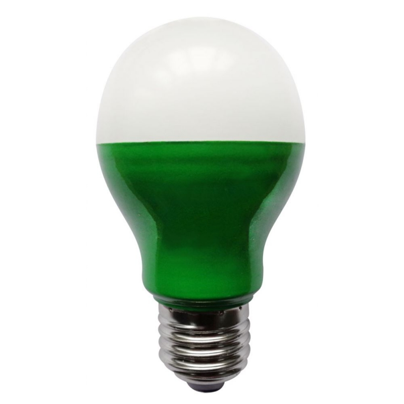 Bell 05750 5W Green LED GLS Light Bulb ES/E27