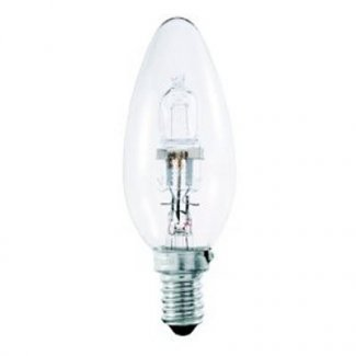 Halogen 42Watt SES Clear Candle Bulb
