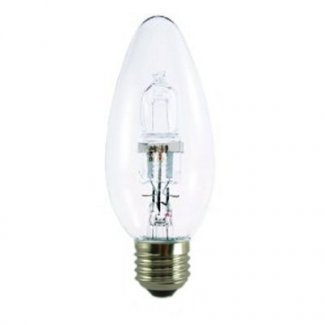 42Watt ES Clear Halogen Candle Bulb