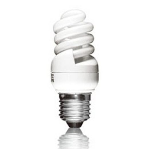 CFL 11Watt ES 2700K Ultra Mini Energy Saving Light Bulb