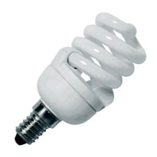CFL 11Watt SES 2700k Energy Saving Warmwhite Bulb