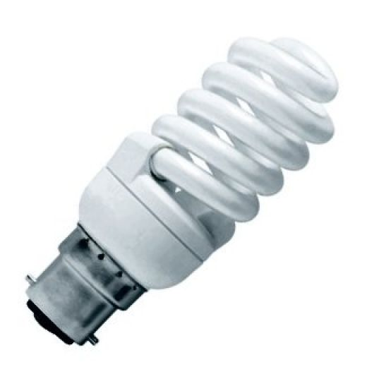 CFL 15Watt BC 2700k Energy Saving Warmwhite Bulb