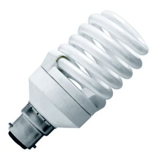 CFL 23Watt BC 2700k Energy Saving Warmwhite Bulb