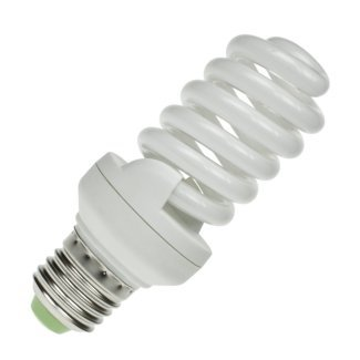 CFL 25Watt ES Evo T2 Ultra Compact Low Energy Helix Lamp