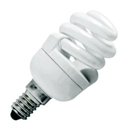 CFL 7Watt SES 2700k Energy Saving Warmwhite Bulb