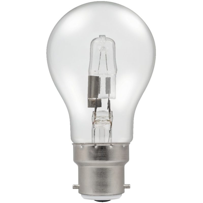 Halogen 80Watt BC Energy Saving GLS Bulb