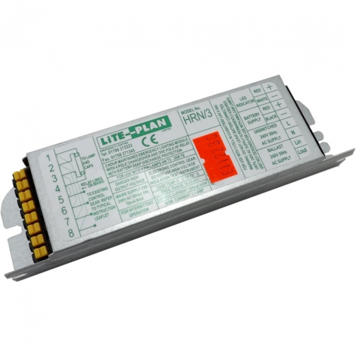 Lite-Plan HRN/3 Emergency Lighting Module 1X4W-36W Lamp