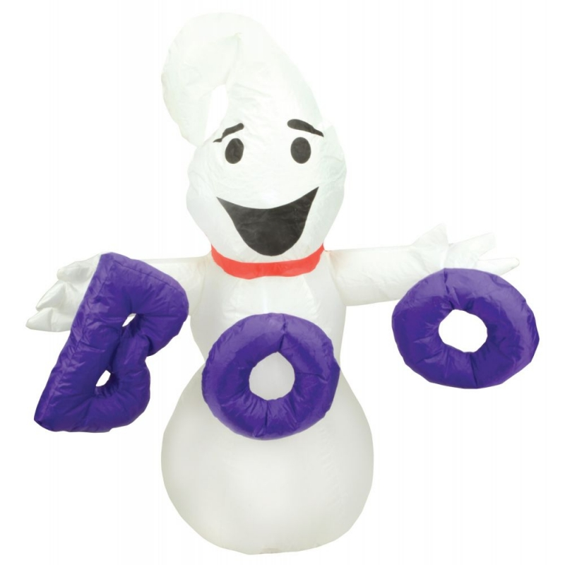 4ft Halloween Inflatable Ghost with Boo Display