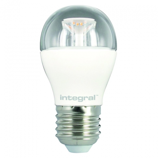 Integral 6.2W Clear Dimmable Mini Globe ES 2700K