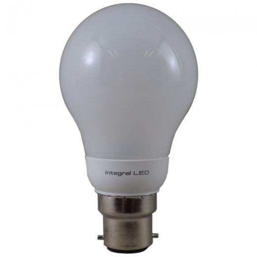 Integral LED Classic Globe 5.5W 2700K BC Non-Dimmable 39-37-74