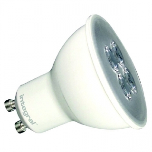 Integral LED 5.3W 3000K GU10 Non-Dimmable 88-63-99