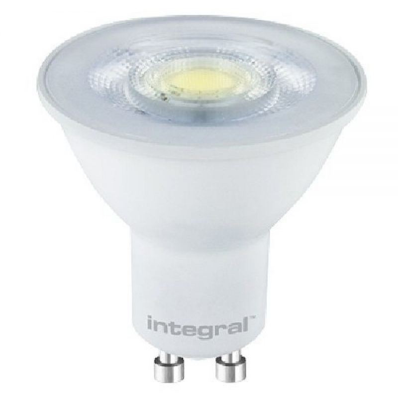 Integral LED 4.5W GU10 4000K 380lms 01-50-60