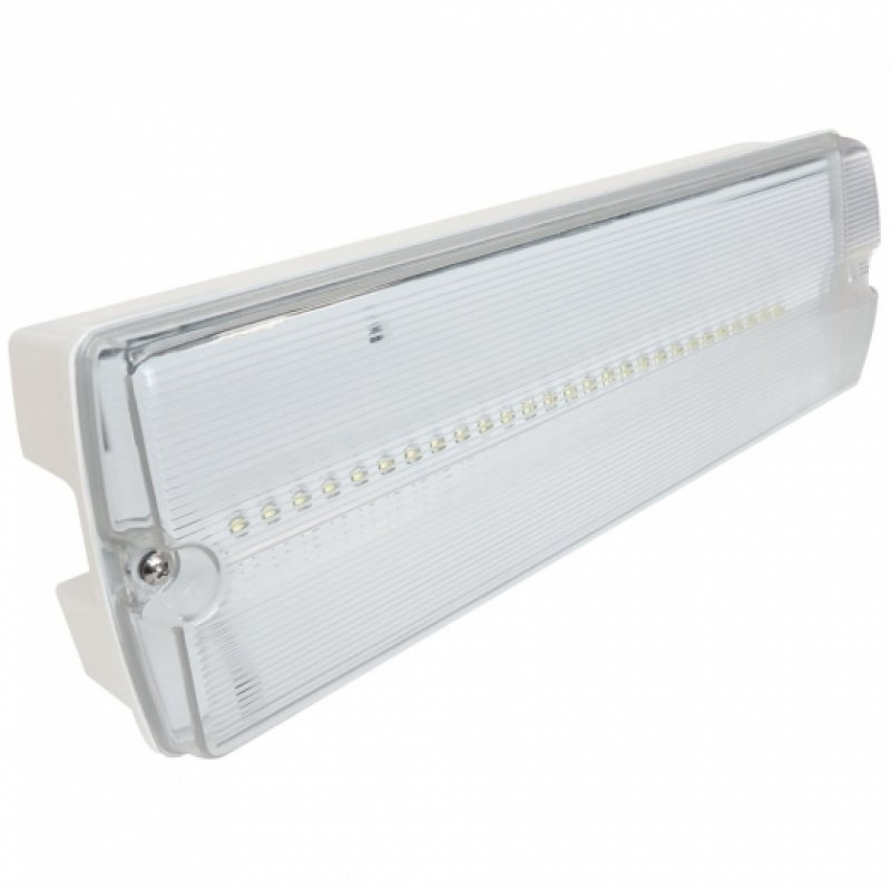 Eterna IP65 Emergency LED Non Maintained Bulkhead LEDEM3NM
