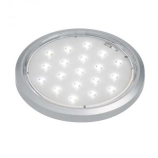 LEDF-SC Ultra Thin Led Downlight With Satin Chrome Ring