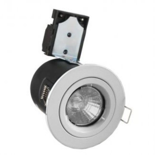 White MR16 Fire Rated Downlight LLFR-D-WH-MR
