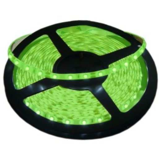 5 Metre Green IP20 12V LED Tape