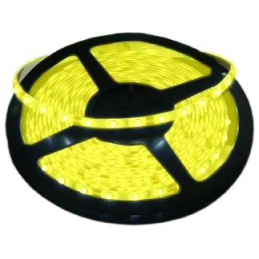 5 Metre Yellow IP65 12V LED Tape