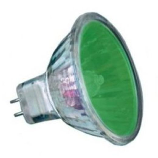 50Watt  2,000 Hour Green Low Voltage Dichroic Light Bulb