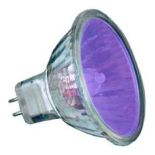 50Watt  2,000 Hour Purple Low Voltage Dichroic Light Bulb