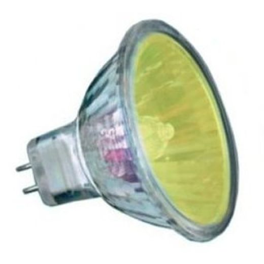50Watt  2,000 Hour Yellow Low Voltage Dichroic Light Bulb