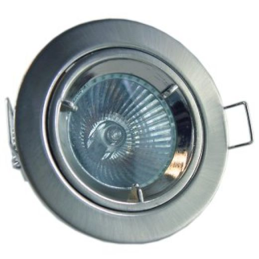 Cast Mains Downlights (GU10) Brushed Nickel