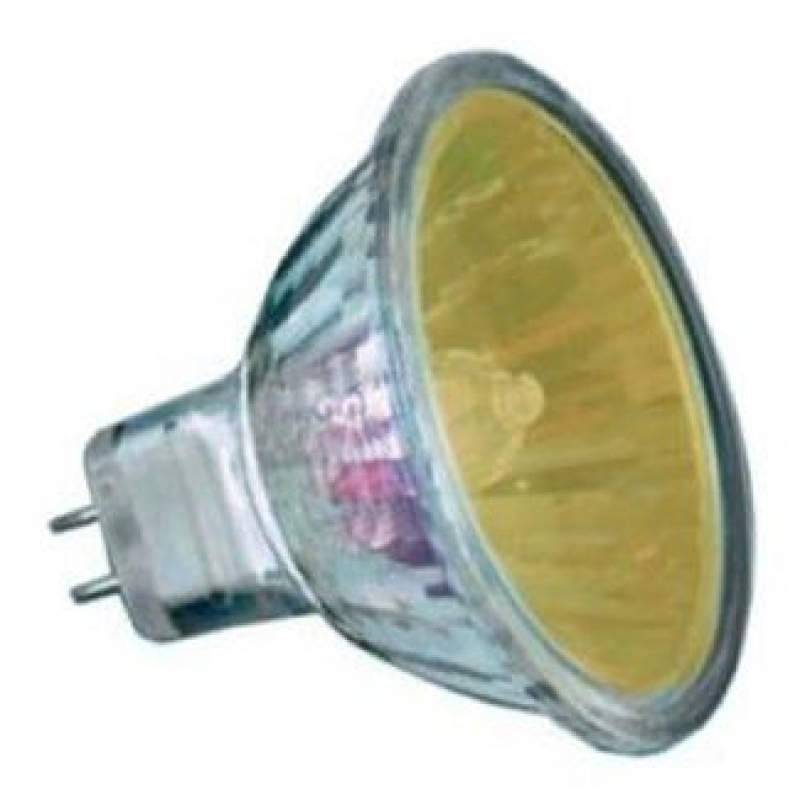 20w Amber 2,000 Hour Colour Low Voltage Dichroic