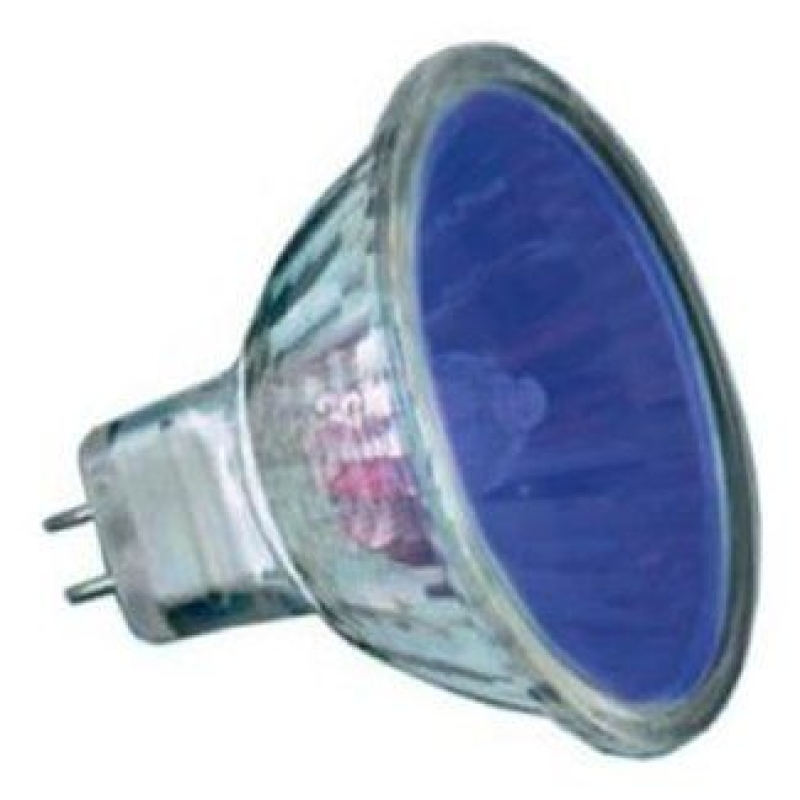 20w Blue 2,000 Hour Colour Low Voltage Dichroic