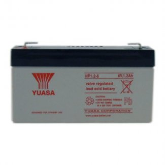 Yuasa Sealed Acid Battery 6V 1.2ah