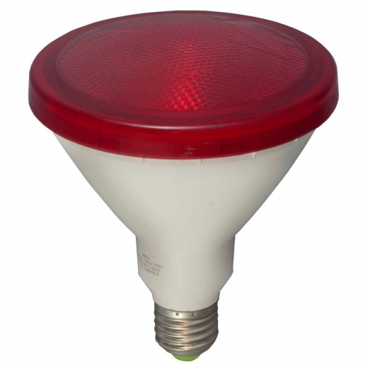 Bell Exterior LED PAR38 15W Red Lamp Non Dimmable 05652