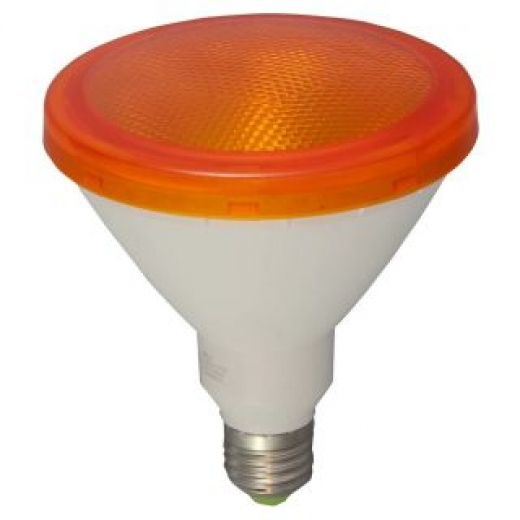 Bell Exterior LED PAR38 15W Yellow Lamp Non Dimmable 05654