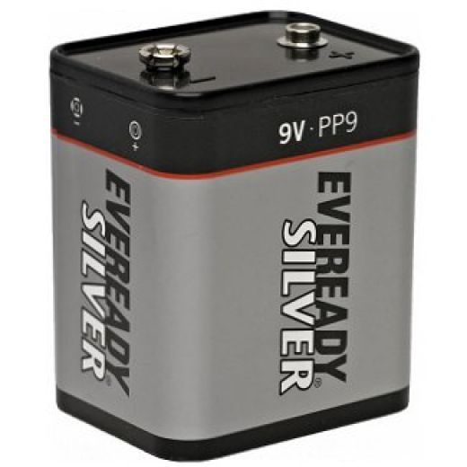 Eveready Silver Battery Zinc Chloride PP9 9V