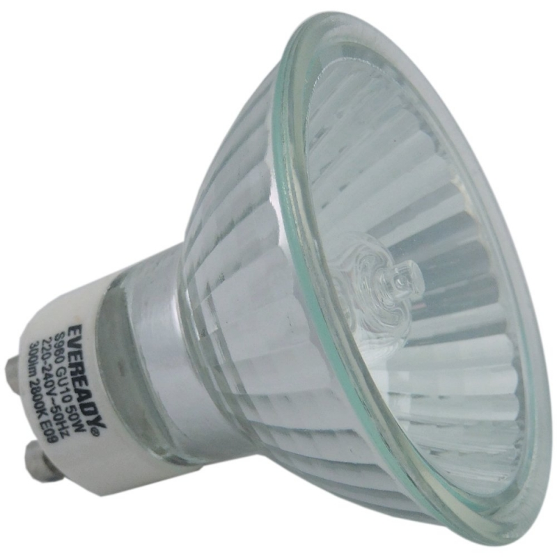 Eveready GU10 Halogen 50W 240V 35 Degree Flood