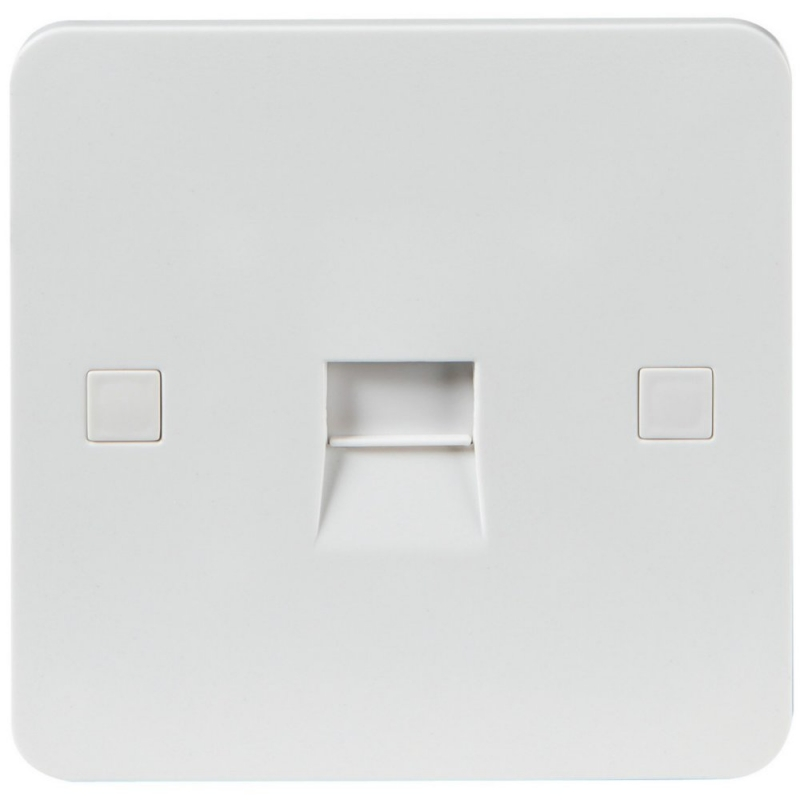 Knightsbridge PURE PU7400 Flush Telephone Extension Socket - 9mm