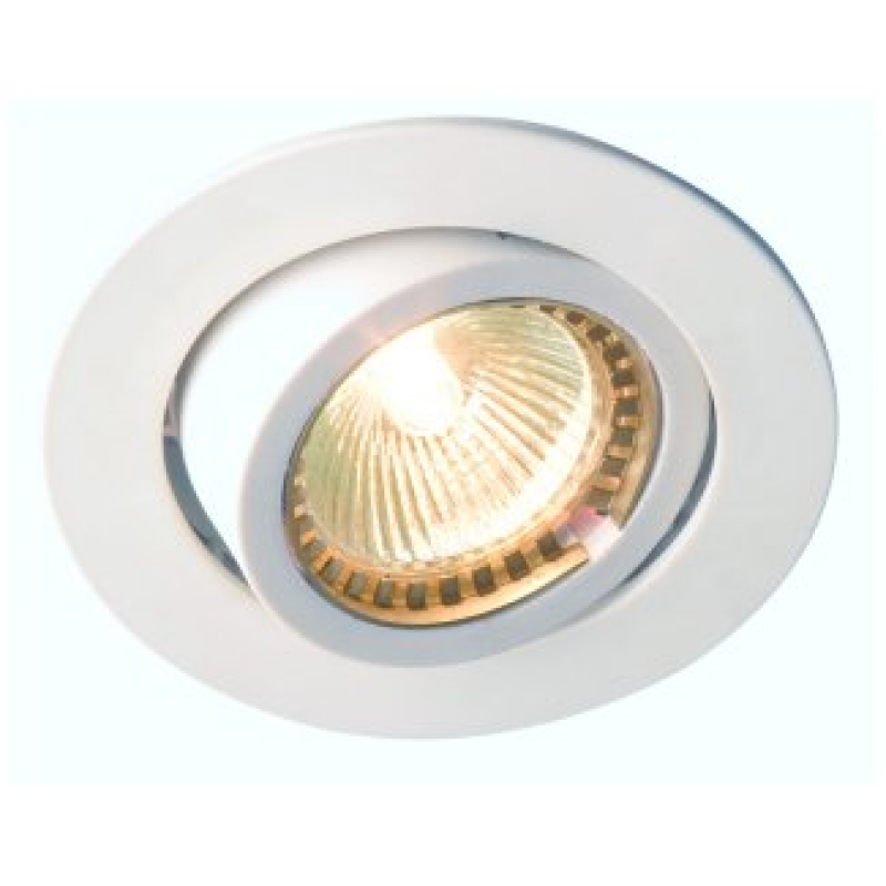 Robus Low Voltage Single Downlight White R1004-01