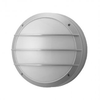 2 x 18w Satin Silver Surface Wall Light