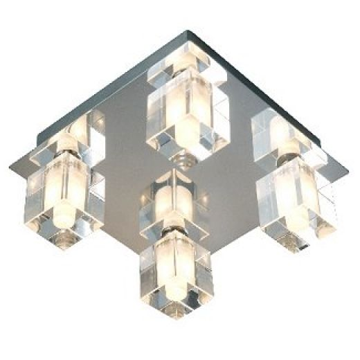 Bathroom IP44 Crystal Square Light RCC80-03