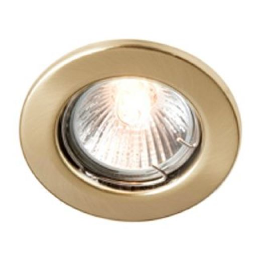 RS208E-02 Brass Enclosed GU/GZ10 Downlight
