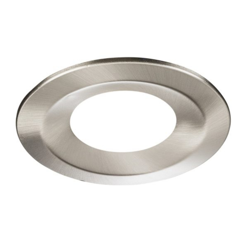Knightsbridge Bruched Chrome Bezel for RW6 IP65 Downlights RW6BC