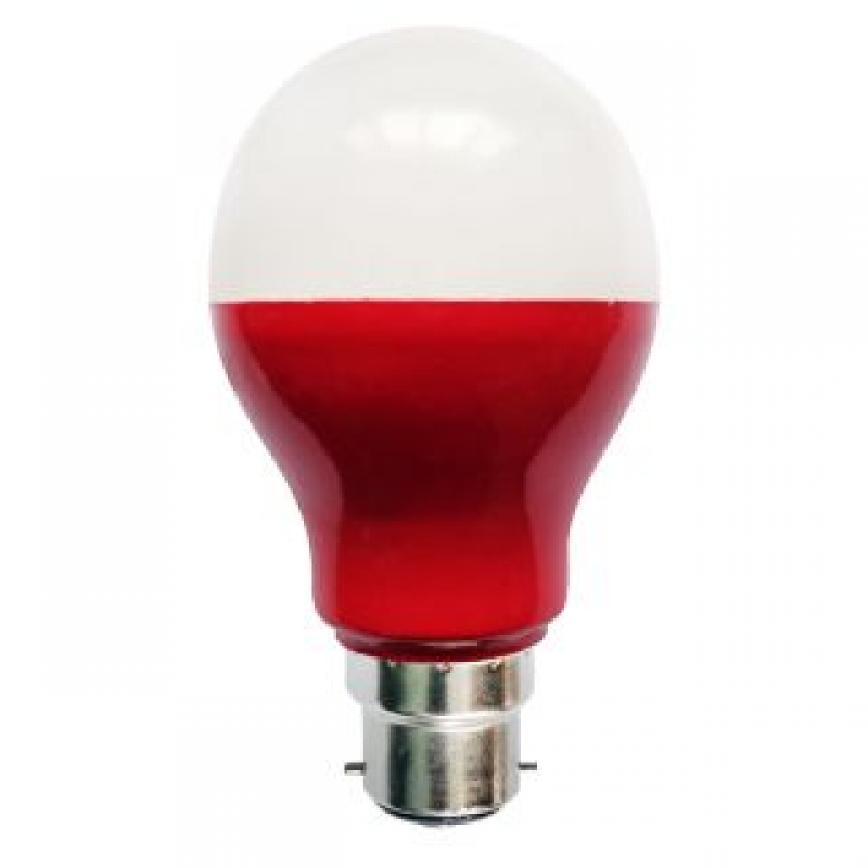 Bell 05751 5W Red LED GLS Light Bulb BC/B22