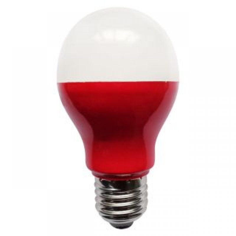 Bell 05752 5W Red LED GLS Light Bulb ES/E27