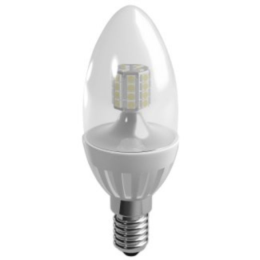 Duracell LED 3.5W Candle Clear SES Warm White Dimmable S6896