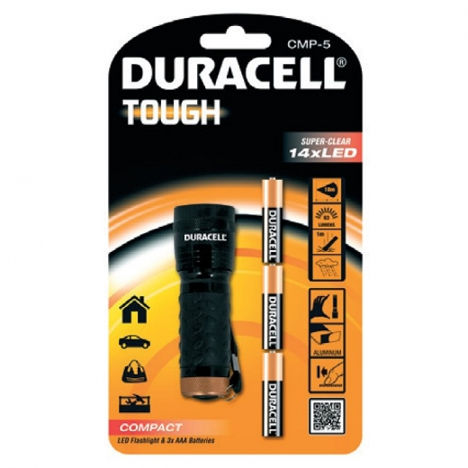 Duracell CMP-5 Tough 14 LED Compact Torch S7269