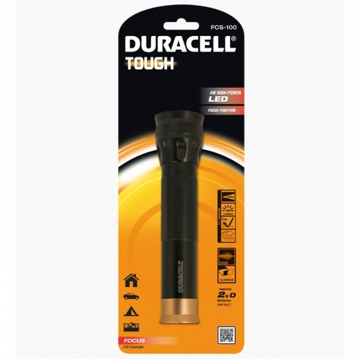 Duracell Ultra Bright Tough LED Torch FCS-100