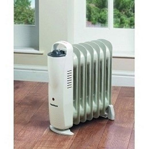 SupaWarm 900W Mini Oil Filled Radiator With Thermostatic Control SOFR5
