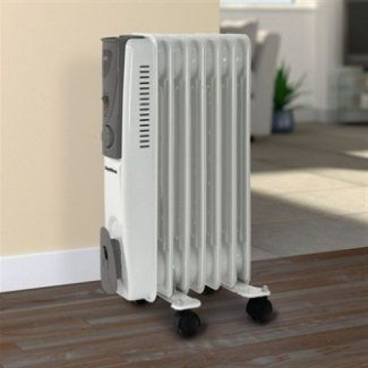 SupaWarm 1500W Oil Filled Radiator With Thermostatic Control SOFR7